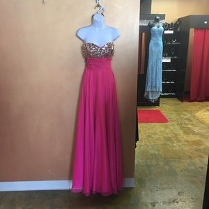 Pink Alyce Prom Gown